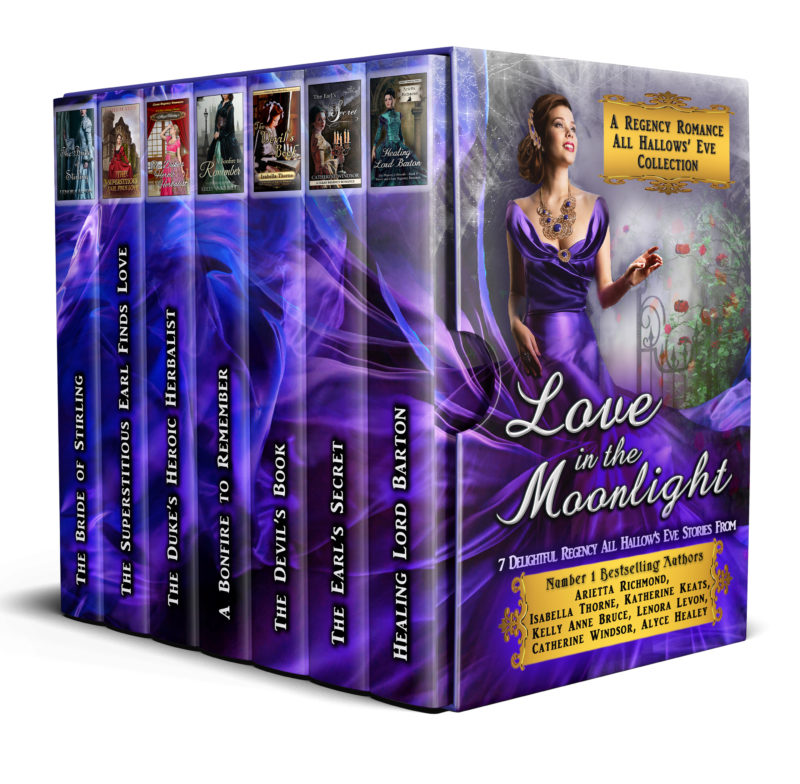 Love in the Moonlight: A Regency Romance All Hallows' Eve Collection